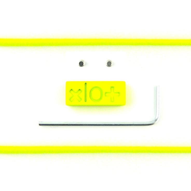 Mattoncino #xlo+ special giallo fluo $33.45