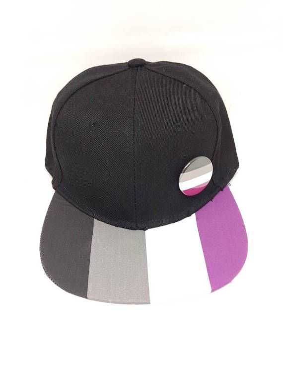 d59902d66 Asexual Ace Pride Snapback Hat LGBTQ Asexual Pride Asexuality ...