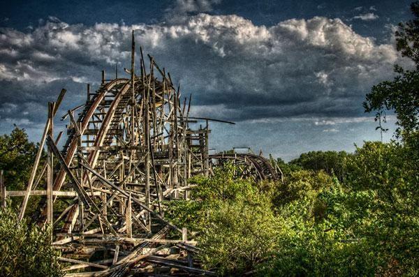 23 Spookachtige foto's van verlaten pretparken | WTF | Upcoming