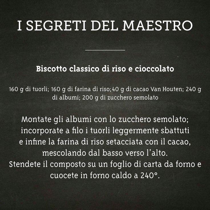 bisquit di riso e cioccolato Luca Montersino