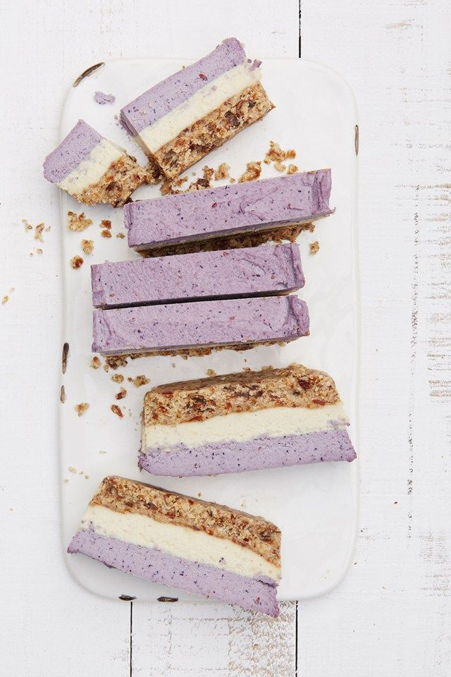 Blueberry cashew bars and other recipes