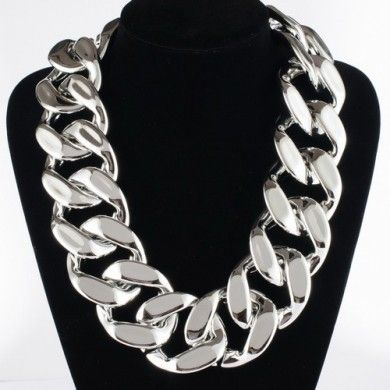 Lucite Chunky Necklace