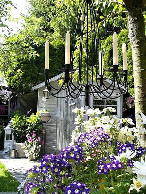shabby chic inspired garden garden pinterest. Black Bedroom Furniture Sets. Home Design Ideas