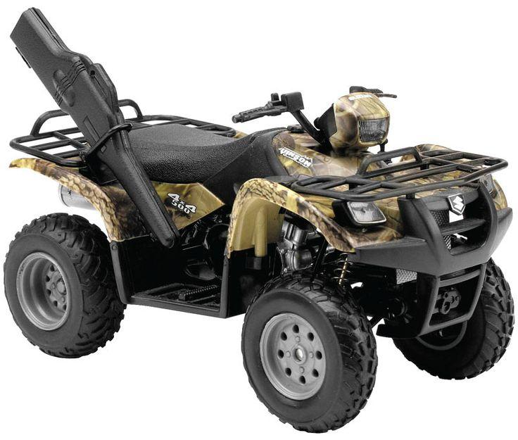 ATV's | New Ray Toys - 1:12 Scale ATVs Vinson 500 4X4 Green Camo