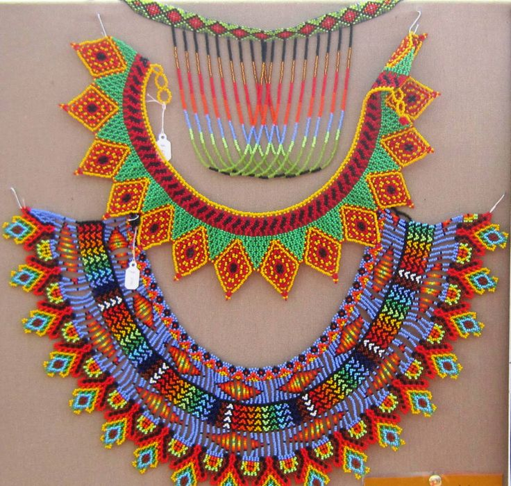 WOW - vibrant colour & amazing beadwork