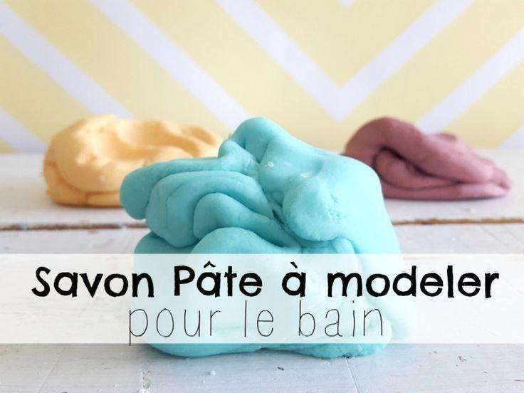 Un savon pâte à modeler pour le bain | Recette | Recettes de savon, Savon et Pate a modeler