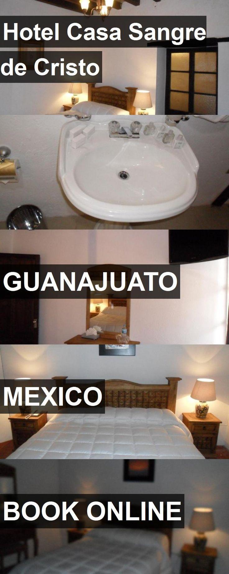 Hotel Hotel Casa Sangre de Cristo in Guanajuato, Mexico. For more information, photos, reviews and best prices please follow the link. #Mexico #Guanajuato #HotelCasaSangredeCristo #hotel #travel #vacation