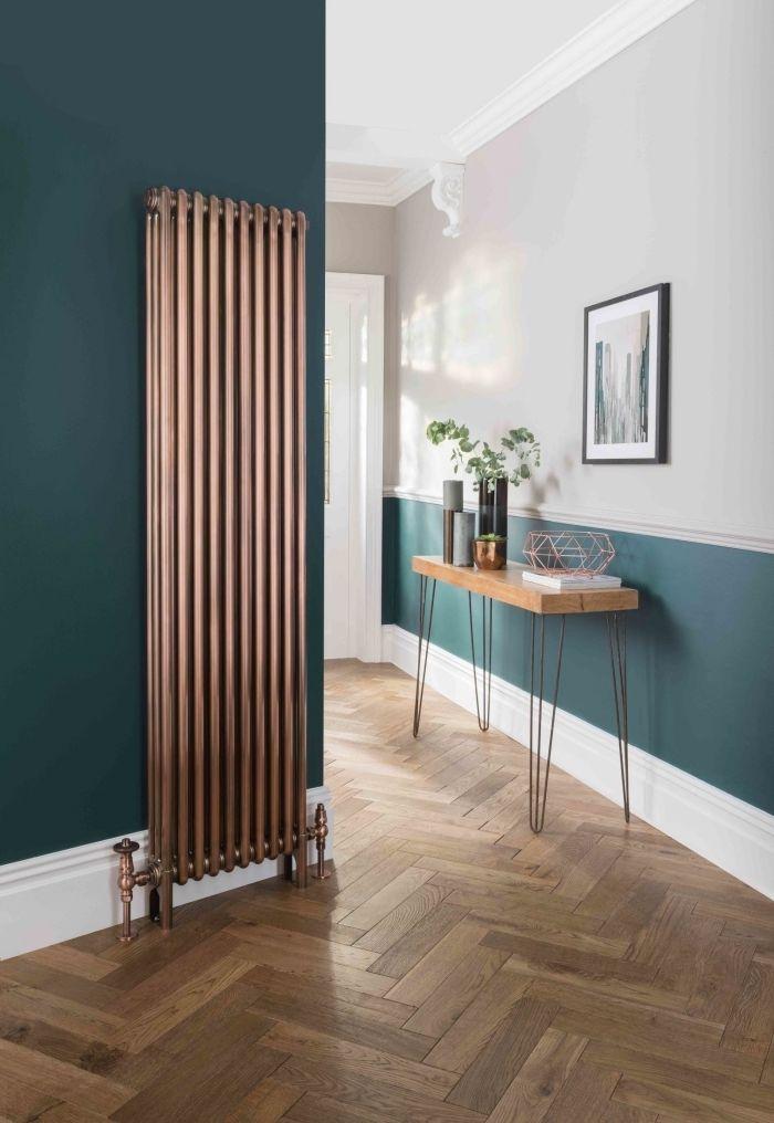 1001 Idees De Couleurs Pour Une Peinture Couloir Originale Idee Deco Couloir Deco Entree Maison Peinture Bleu Canard