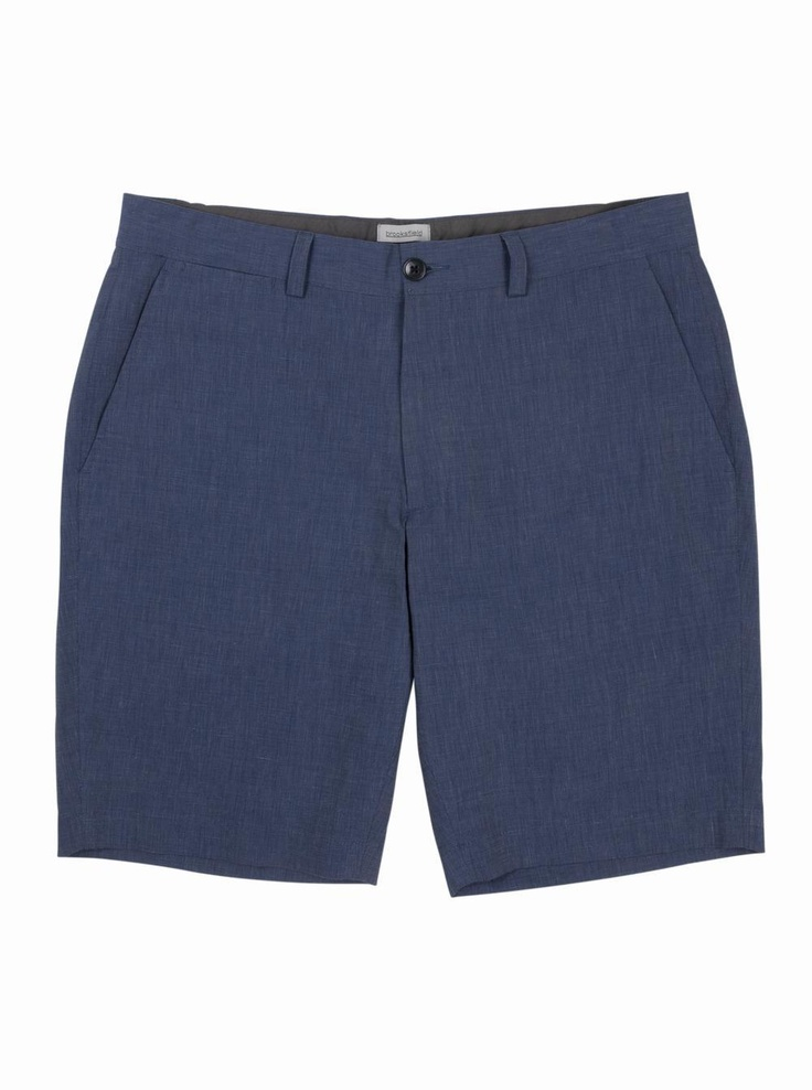 brooksfield Lionel Shorts in blue.
