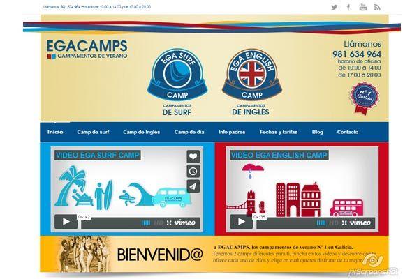 Creación de 4 páginas webs y posicionamiento de sus servicios >> campamentosdeverano.com.es #Web #SEO #Marketing #MarketingOnline