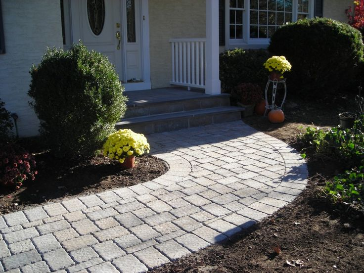 Paver Walkway Ideas Section 6   Paver Front Walkway Design Ideas