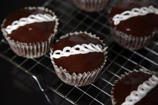 Homemade Hostess Cupcakes from YumSugar.  Every part of it is from scratch, which is awesome.