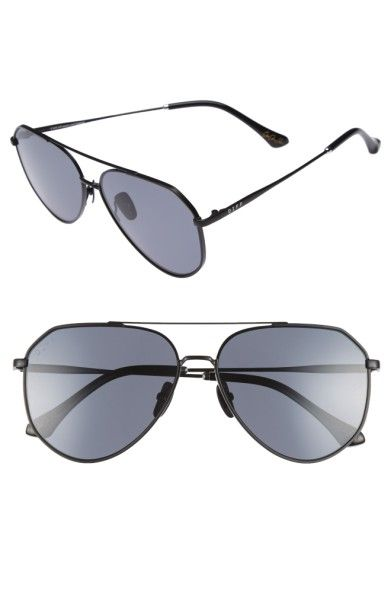 - DIFF x Jessie James Decker Dash 61mm Polarized Aviator Sunglasses