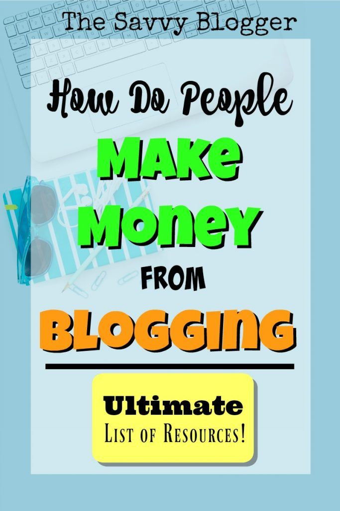 Do People Make Money from Blogging? You bet - some make a full-time income. These resources will help you make a good income from your blog no matter what stage of the process you're in!