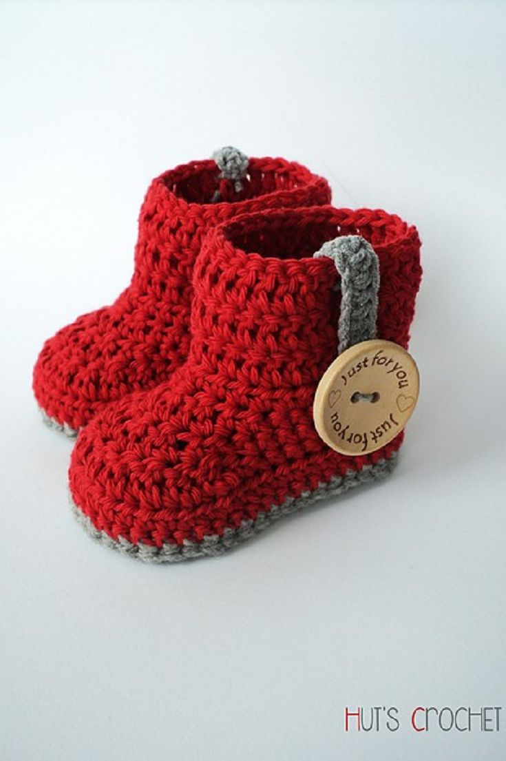 [Free Pattern] 10 Quick and Easy Crochet Baby Booties for the winter season!