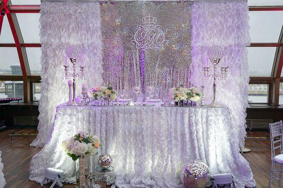 Рождественская свадьба - Свадьбы - Сообщество декораторов текстилем и флористов