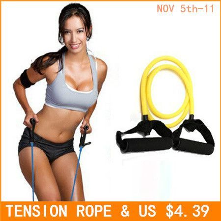 Tension Elastic pilate Exercise Sport Workout fitness Equipment rubber loop Stretch expande