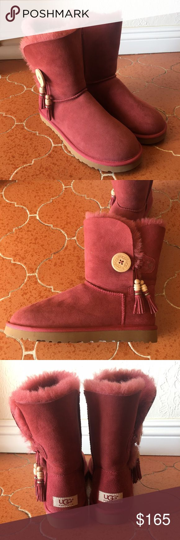 UGG Bailey Button Boot Designed for amazing comfort with every step, brand new, never worn, no box. UGG Shoes Winter & Rain Boots