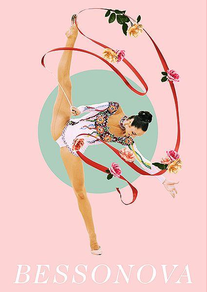 Gymnastics posters: Anna Bessonova | Rhythmic Gymnastics
