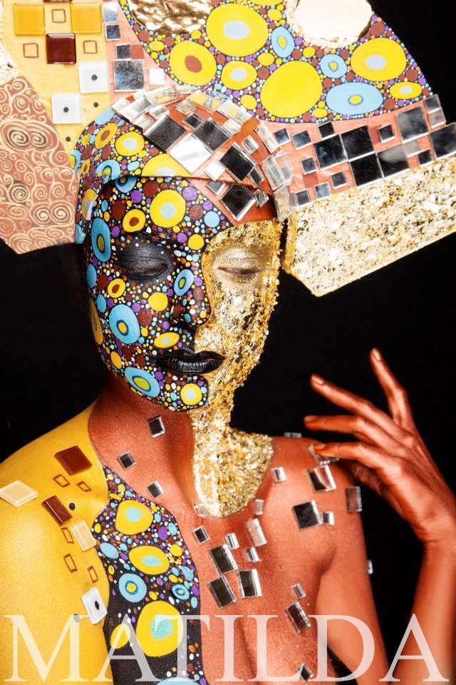 Matilda make-up school#facepaint #bodypaint Фейс-арт и боди-арт : Матильда Иноземцева