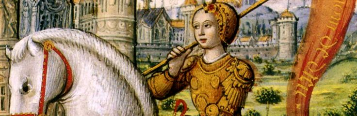 #JoanOfArc - Joan of Arc, a peasant girl living in medieval France, believed that God had chosen her to lead France to victory in its long-running war with England. @HISTORY