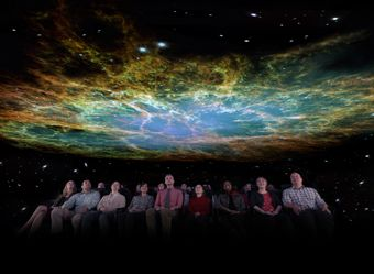 Cosmic Wonder launches families from Chicagos Adler Planetarium into outer space #Chicago #Adler #Space
