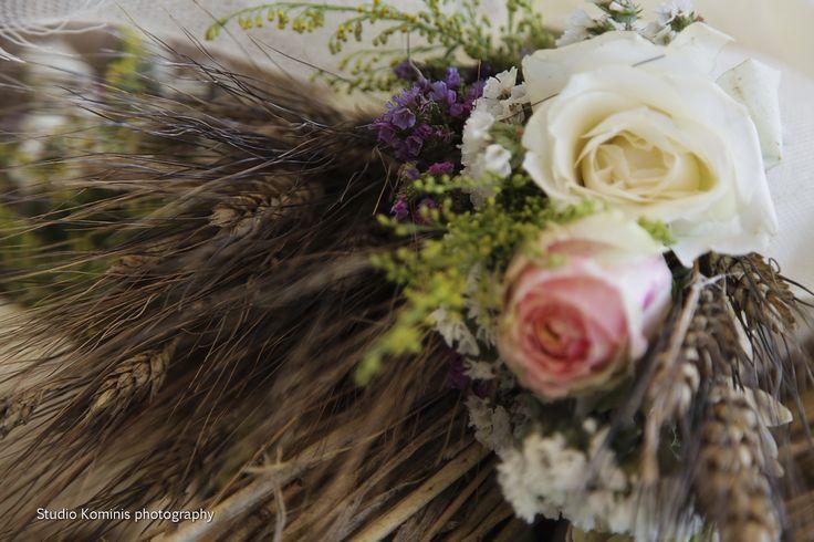 #wedding #weddings #flowers #greece #andros #greek islands #centerpieces #elegant #roses #Dreams In Style #wedding planner #greek wedding  Photo credtis: Studio Kominis