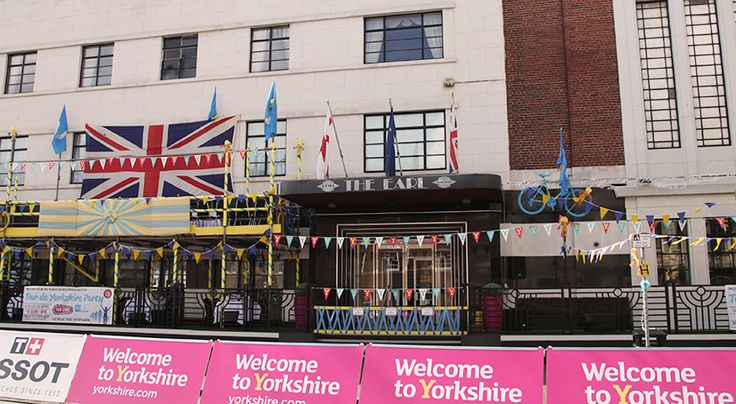 The Earl of Doncaster Hotel prepares to welcome Tour De Yorkshire 2016.