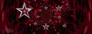 Stars Facebook Timeline Banner - Red by JSSanDA
