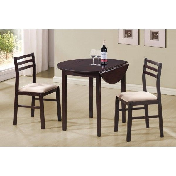 Perfect For Your Breakfast Nook Or Entertainment Space, This Dining Set  Features A Round Top