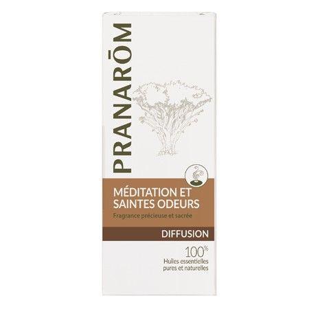Huiles essentielles pour diffuseur Méditation et Saintes odeurs Pranarôm - les-huiles-essentielles-bio