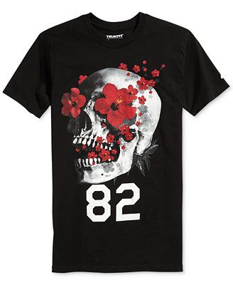 Trukfit Buggin' Skull T-Shirt - that should be mine!