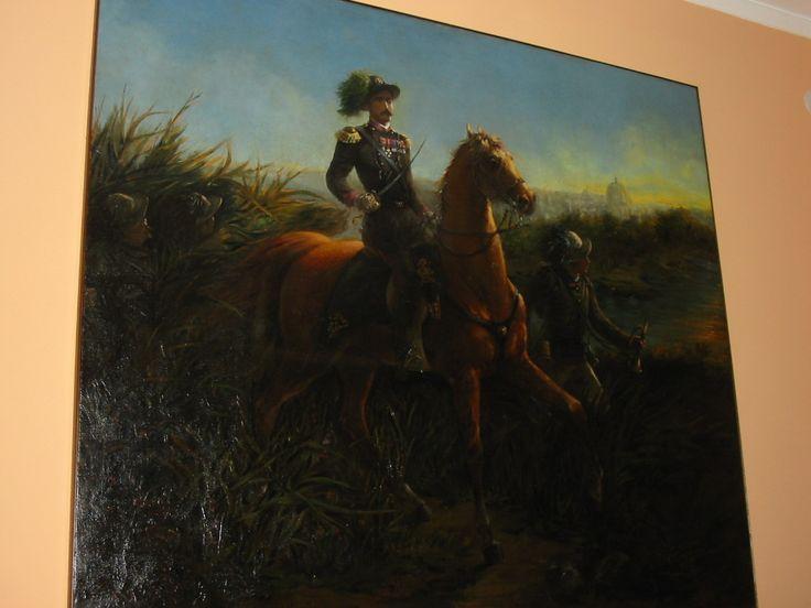 Palamede Casnedi, primo ufficiale Bersaglieri ad entrare a Roma da Porta Pia, collezione privata, Raffaele Casnedi, pittore