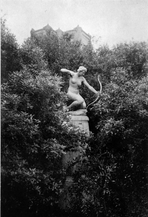 Diana hunting..  sculpture by Haig Patigian
