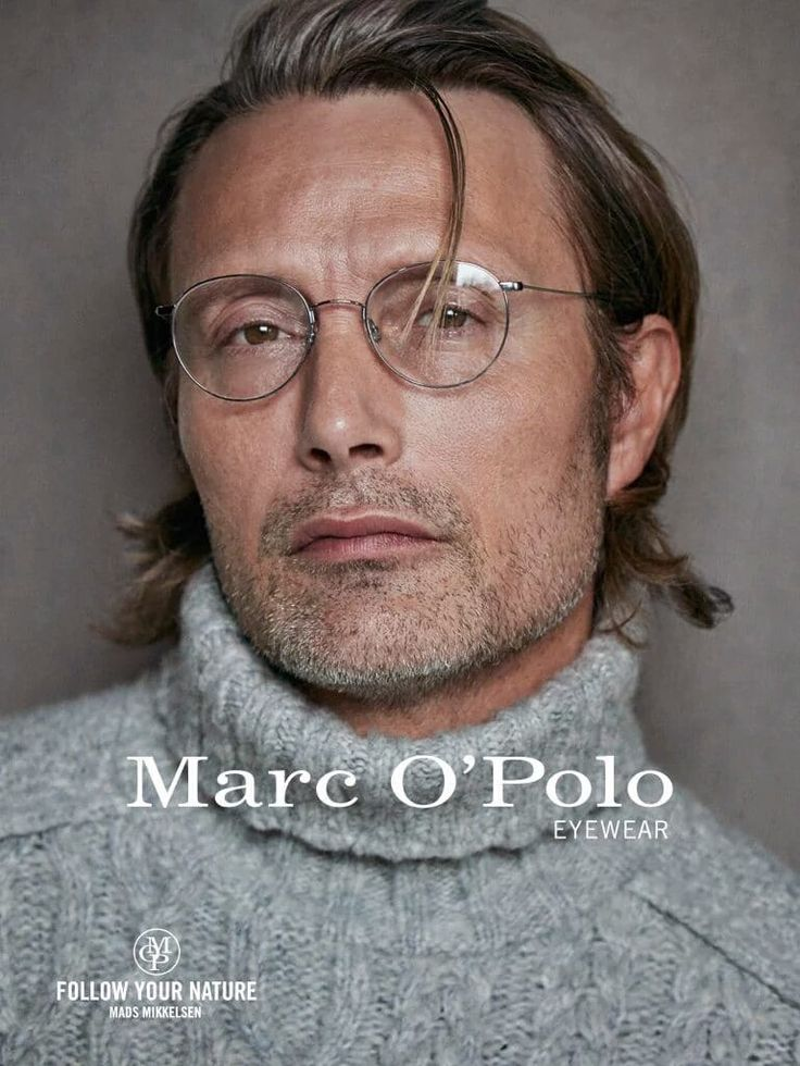 Mads Mikkelsen by Peter Lindbergh for Marc O'Polo campaign, 2016