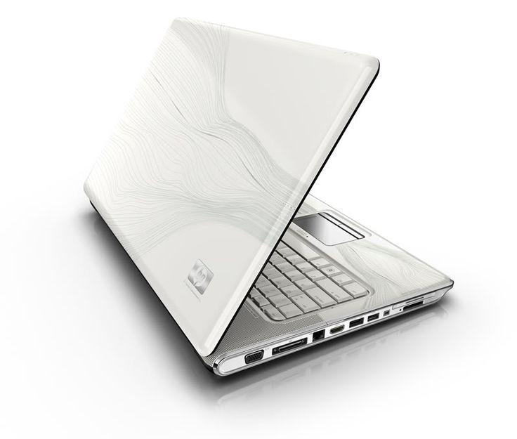 New HP Pavilion Laptop DV4 DV4T Core 2 Duo 4GB Blu Ray White Webcam Vista TV BT | eBay