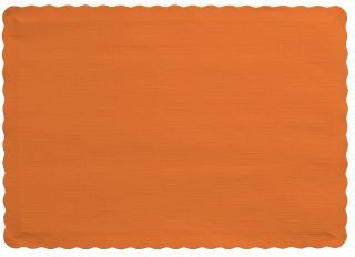 Paper Placemats, Sunkissed Orange