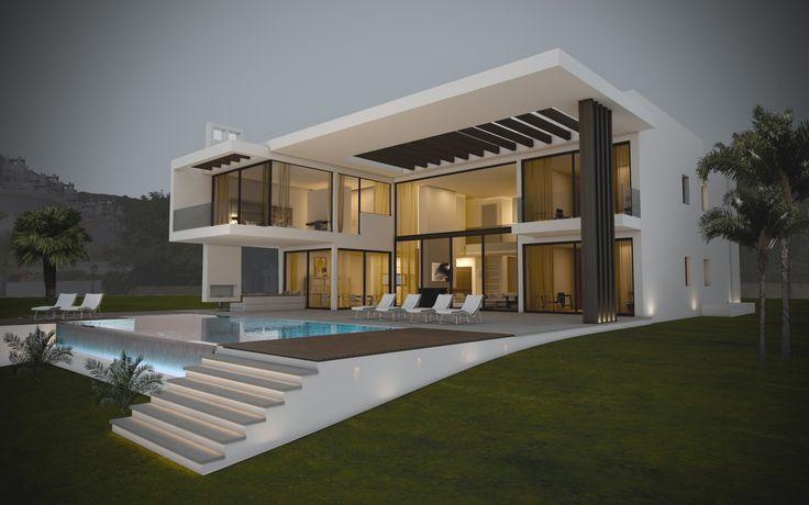 28 migliori immagini architettura moderna su pinterest for Architettura case