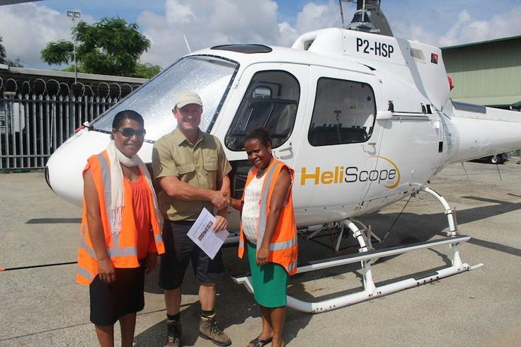 @BbPPNG would like to thank HeliScope PNG for their partnership to deliver books to vulnerable communities across PNG