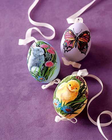 украшение яйца