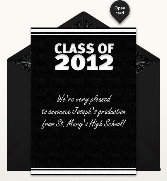 Best  Graduation Announcements Wording Ideas On