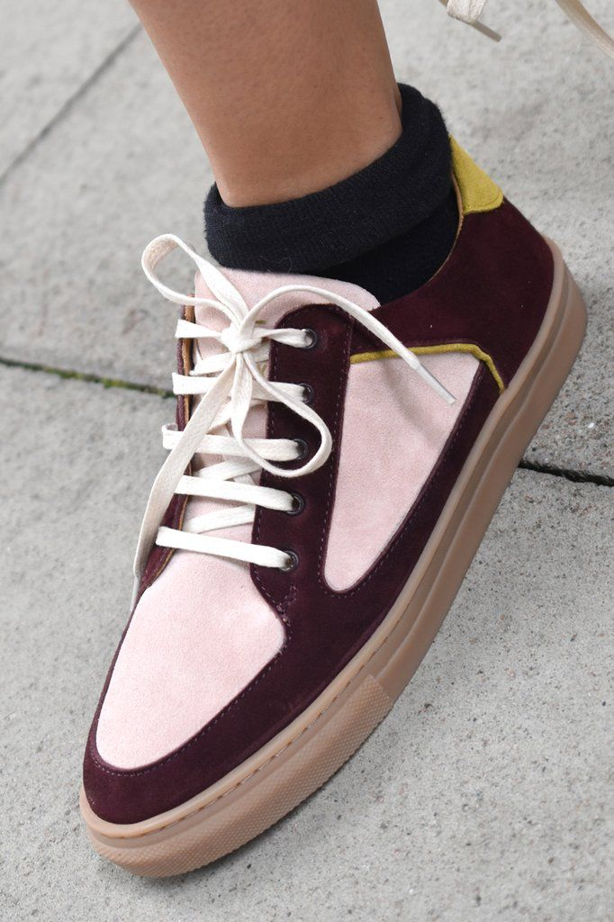 Rose Rankin Coney Plum Low Top Trainers – The Mercantile London