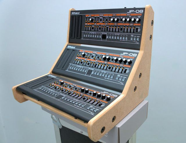 MATRIXSYNTH: TRIPLE ROLAND BOUTIQUE 3 TIER STAND