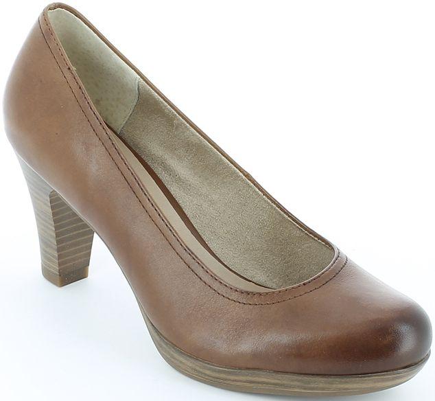 Pantofi cu toc Tamaris din piele