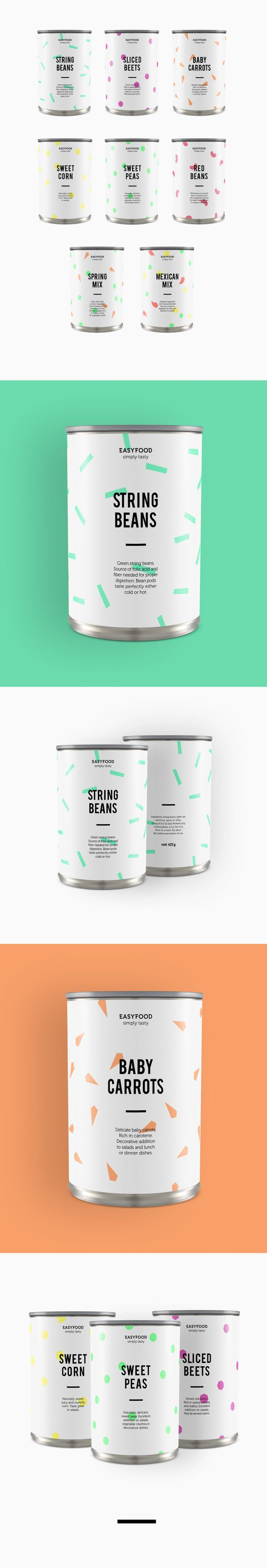 EasyFood Packaging by Adrienn Nagy