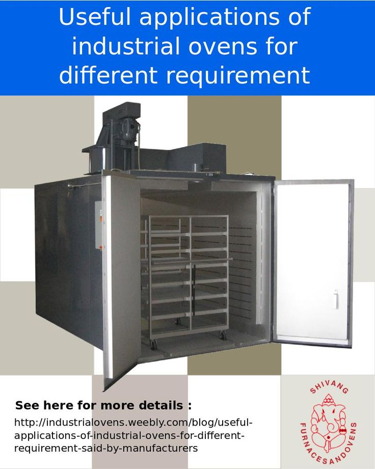 Standard manufacturers of industrial ovens from India