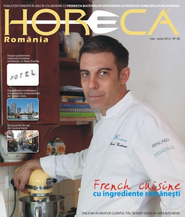 "Issue 58 - David Contant/ Executive Chef ""La GB si Oskar"""