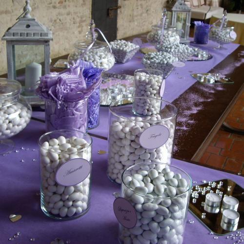 Confettata Piacenza dal tema color lilla