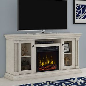 White Electric Fireplaces | Electric Fireplace Direct