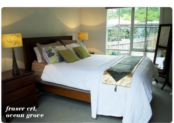 Ocean Grove house bedroom